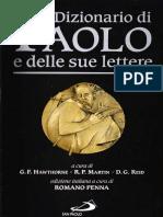 Dizionario Di Paolo e Le Sue Lettere
