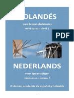 Mini Cursus Nederlands Niveau 1