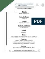 actividades de mantenimiento de una empresa cervezera.docx