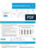 Rsm-India Interim Budget 2019-Key Aspects in a Nutshell