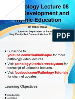 t cell development   thymic education of t cell