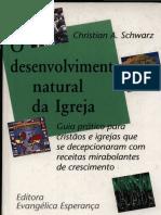 Schwarz. Desenvolvimento Natural Da Igreja
