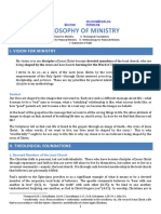 Alex Leung-Philosophy of Ministry