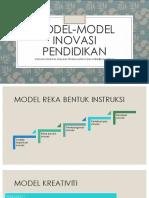 Model-model Inovasi Pendidikan