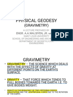 Physical Geodesy Lecture