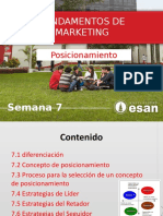 Fundamentos de Marketing - semana 7 Posicionamiento.pptx