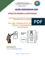 Plan Capacitacion Salud Ocular