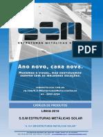 Catálogos de Preços - S.S.M Estruturas Metálicas Solar - Março - 2018
