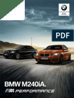 Ficha Técnica BMW M240iA Coupé 2019