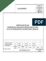 Inspection Test Plan sample