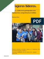 Efectos de La Participación de Mujeres Líderes en Procesos Autogestionarios.  Mariana Enet. HIC-AL