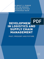 Developments in Logistics and Supply Chain Management
