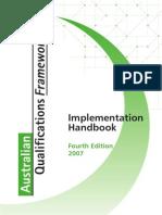 AQF Handbook 07