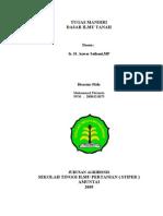 Ilmu Tanah Pertanian Ku