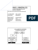 Vitaminas y Minerales[Version Para Imprimir]