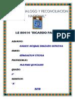 Caratula Ricardo Palma