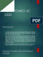 ALFA ROMEO 6C 2500 presentacion.pptx