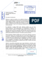 Carta Notarial Triatlhon