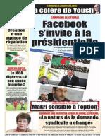 Journal Le Soir Dalgerie 18.02.2019