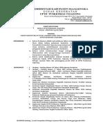 NO. SK 40 (5.1.1.1) sk persyaratan kompetensi penanggungjawab UKM........
