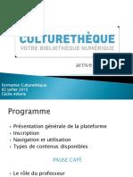 Culturetheque-Profs AF Belém