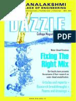 Dazzle College Magazine