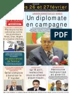 Journal Le Soir d Algerie Du 16.02.2019