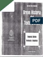 Gonzalo Báez-Camargo. Breve Historia Del Texto Bíblico (Fotocopia)