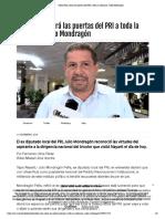 11.02.19 Ulises Ruiz abrirá las puertas del PRI a toda la militancia