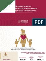 PROGRAMA DE APOYO PARA EL BIENESTAR DE NIÑAS Y NIÑOS