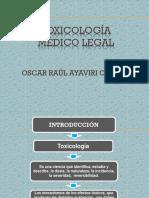 Toxicología Oscar