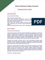 Dokumen.tips Fouling Factor of Tube