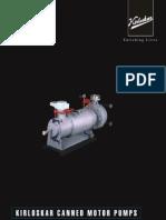 Kirloskar Canned Motor Pumps