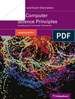 AP Computer Science Principles Course and Exam Description