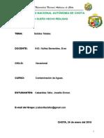 Informe Solidos Totales Joselito Hecho