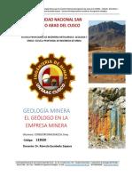 Geologia Minera 18 II