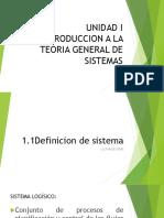 Unidad 1 CDS mixto Introduccion a la Teoría general de sistemas.pptx