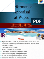 Performence Appraisel at Wipro