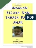Buku Gangguan Bicara Dan Bahasa