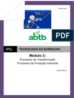 033 Tecnologia Da Borracha Modulo 3 Processos de Transformacao Isabela Pedrinha Ipg PDF