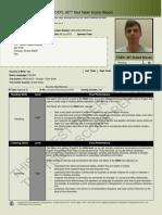 TOEFL-iBT Score Report, Pontecorvo T. 55882