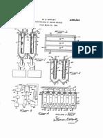 US2669542 Electrolysis of Sodium Sulfate