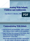 Communicating With the Pediatric Patient