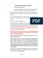GUIDELINES FOR ONLINE SUBMISSION OF APPLICATIONS IN FPSC WEBSITE