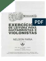 327731901 Exercicios de Leitura Para Guitarra e Violao Nelson Faria