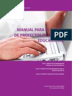 (2) Manual Para El Diseño de Proyectos de Gestión Educacional