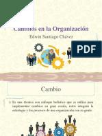 Cambios en La Organización