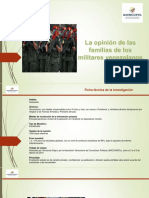 Encuesta a familiares de militares venezolanos