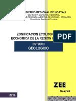 Memoria Descriptiva Geologia Ucayali