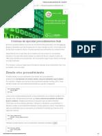 5 Formas de Ejecutar Procedimientos Sub - Ayuda Excel
